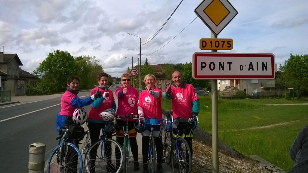 Les Rosalydes - Arrivée à Pont d-Ain